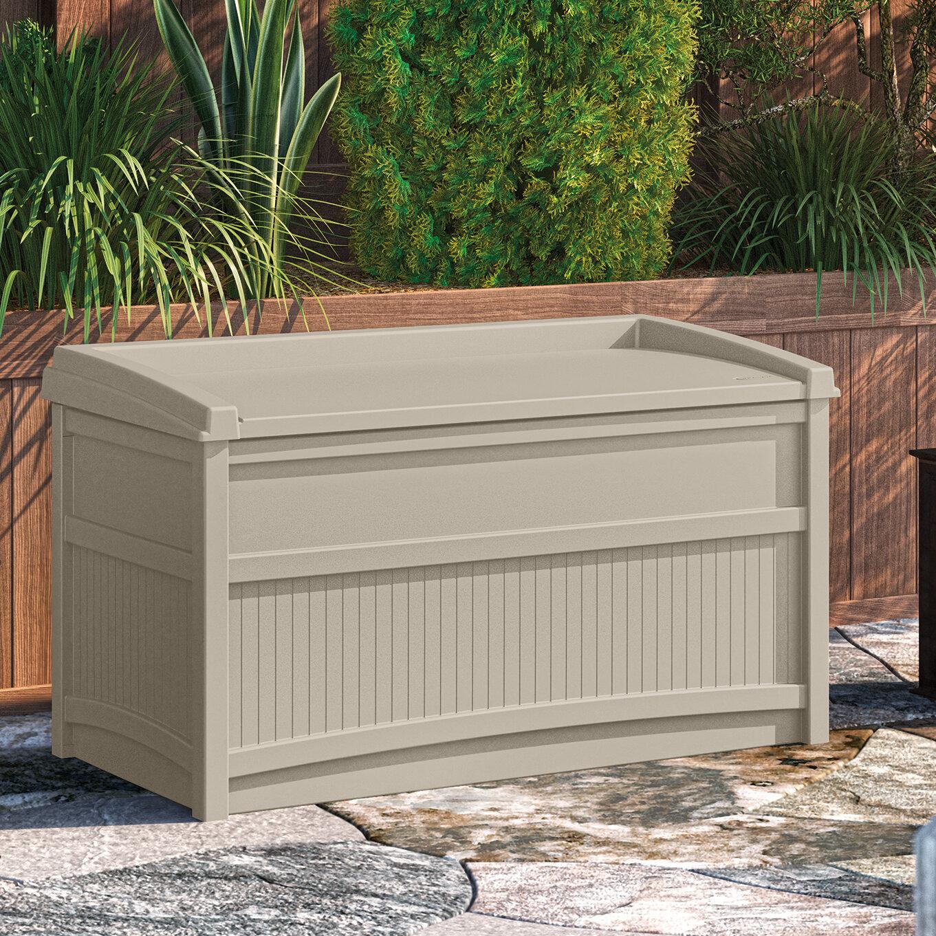 Medium Deck Boxes 20 60 Gallons Wayfair Ca