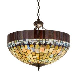 Astoria Grand Noren 3-Light Bowl Pendant