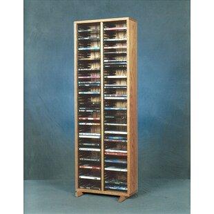 128 DVD Multimedia Storage Rack By Rebrilliant