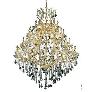 House of Hampton Hiott 49-Light Up Lighting Crystal Chandelier