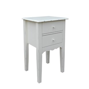 Lauralee Victorian End Table With Storage By Ophelia & Co.