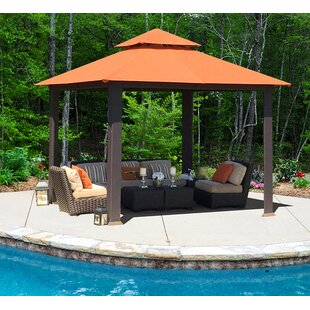 Savannah 10 Ft. W x 10 Ft. D Metal Patio Gazebo by Paragon-Outdoor
