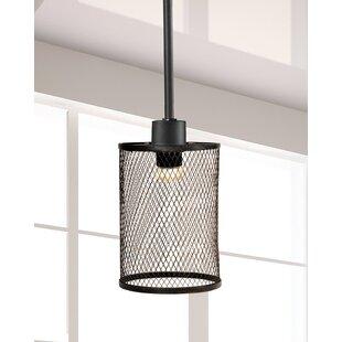 Garth 1-Light Cylinder Pendant by Springdale Lighting