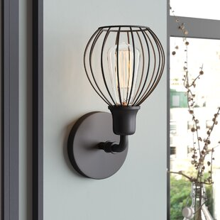 Krouse 1-Light Armed Sconce by Williston Forge