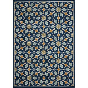 Monterey Navy/Blue Indoor/Outdoor Area Rug