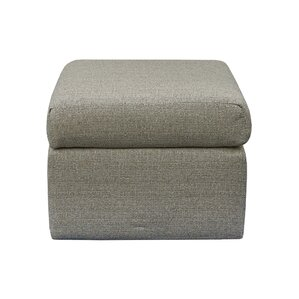Contemporary Beige Square Ottoman by Grafton..