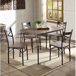 Middleport Dining Set With 4 Chairs By Blue Elephant