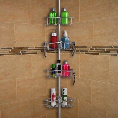 UtopiaAlley Tension Rustproof Shower Caddy & Reviews | Wayfair