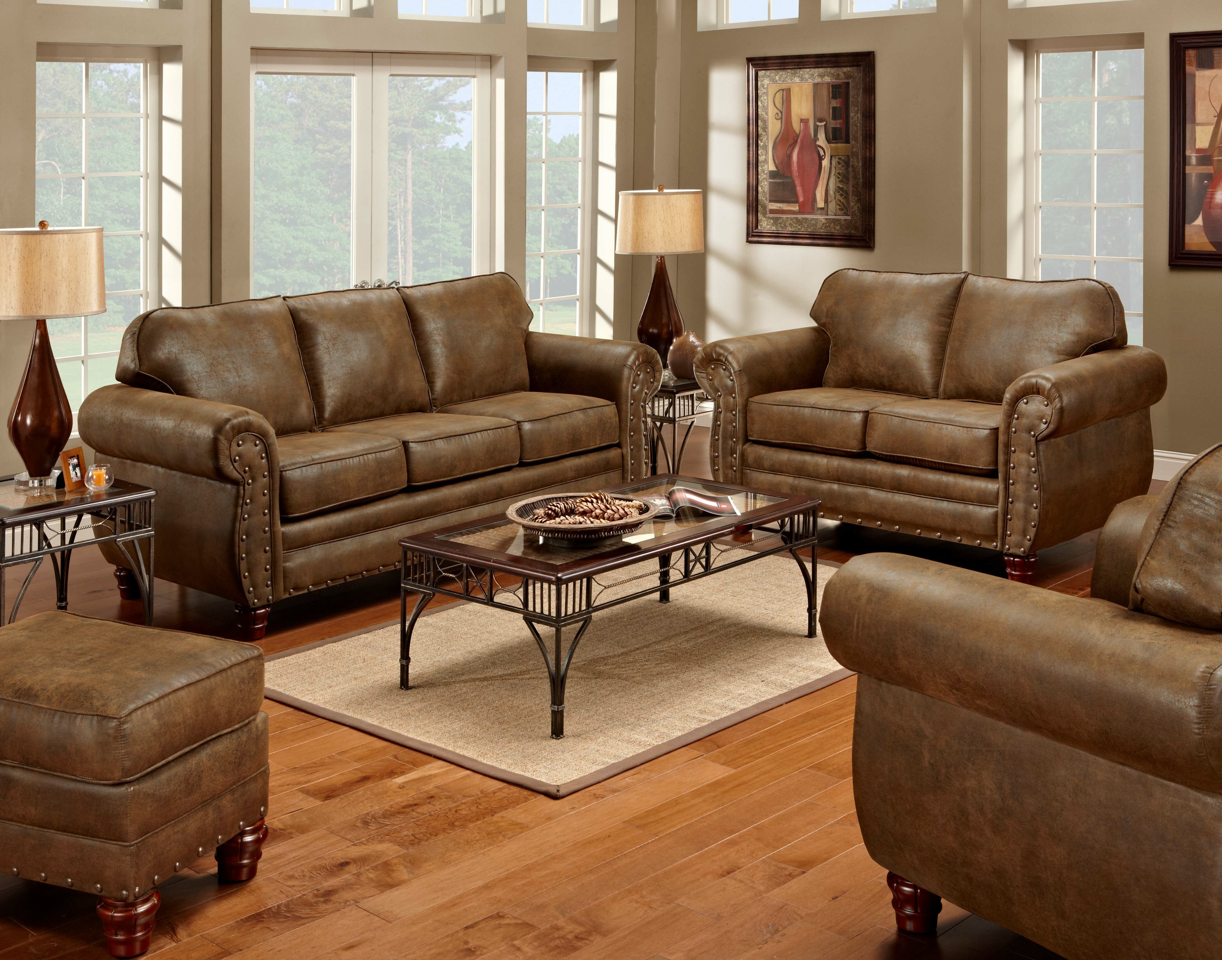 Loon Peak® Aticus 4 Piece Living Room Set & Reviews | Wayfair