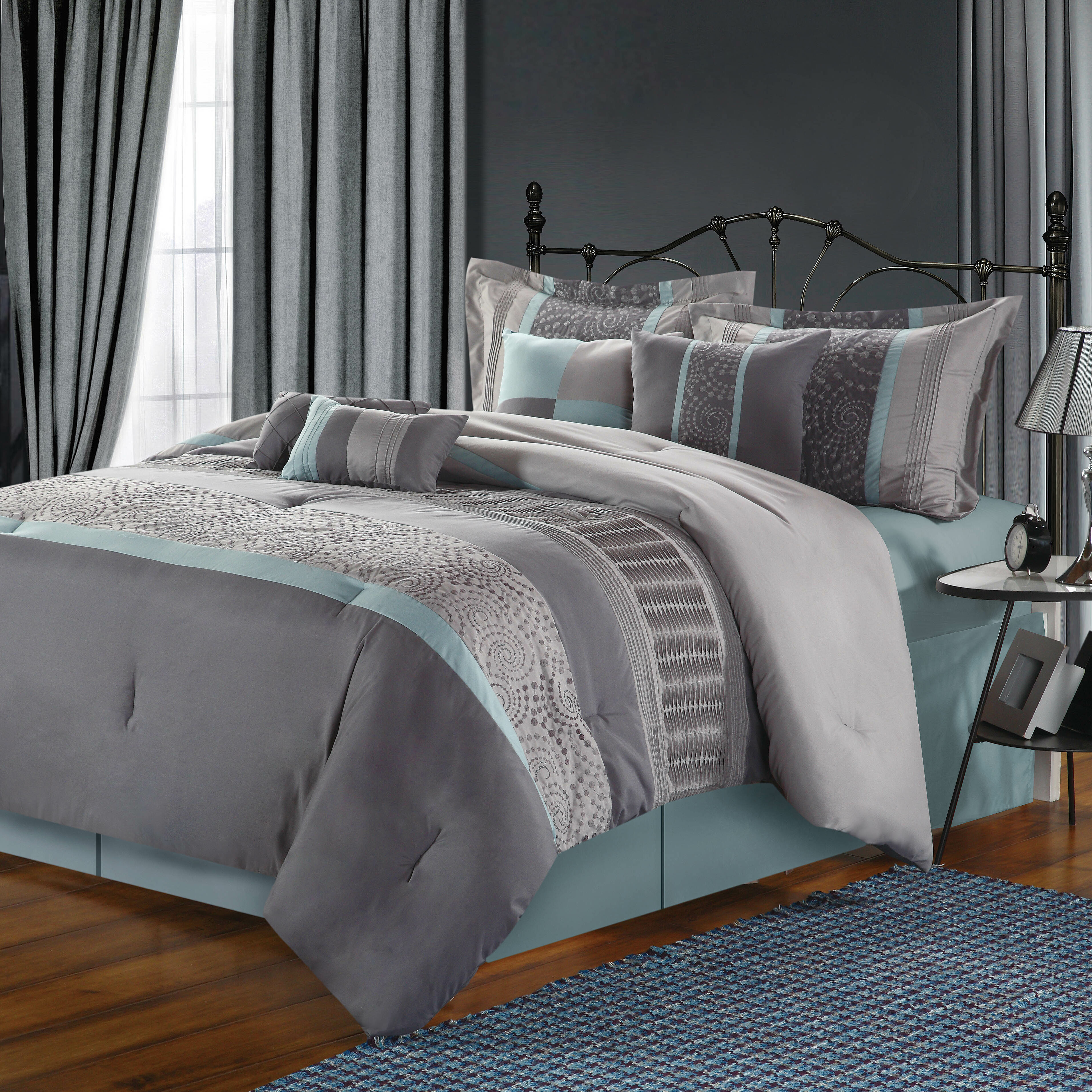 black grey resolution aqua on covers teal cream purple and gray hd light queen comforter pale size gold long full with best navy clearance cute turquois twin turquoise king extra double cover of bedding set linen duvets solid duvet bedroom white sets cool