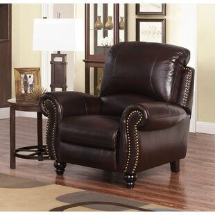 Kahle Leather Manual Recliner by DarHome Co