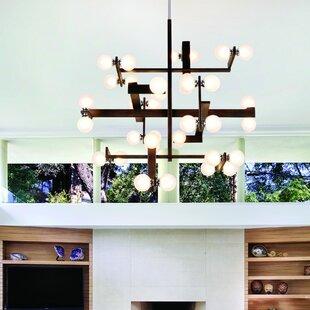 Troy Lighting Network 36-Light Chandelier