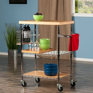 Milledgeville Bar Cart by Ebern Designs