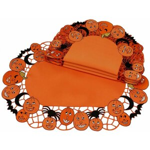 Happy Jack-O-Lanterns Placemat (Set of 4)