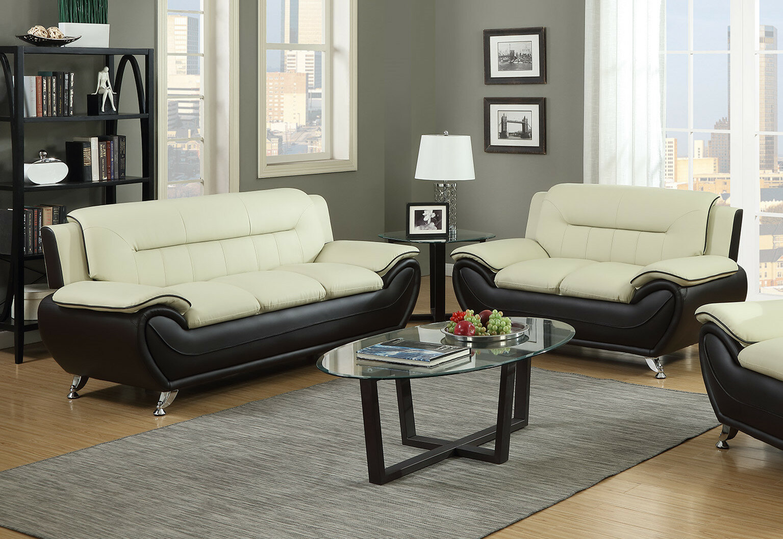 Blevins Contemporary 2 Piece Living Room Set