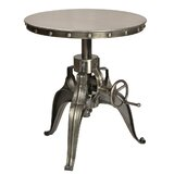 Yavonia Adjustable Height Pub Table by 17 Stories