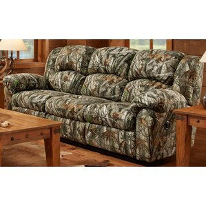 Camo Double Reclining Sofa..