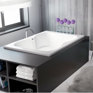 Best Reviews Mito 72 x 42 Drop In Soaking Bathtub By Jacuzzi®