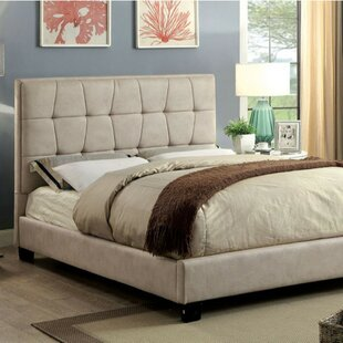 Ambler Contemporary Upholstered Platform Bed by Ivy Bronx