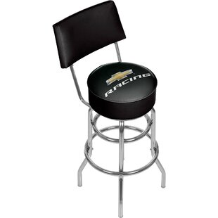 Chevy Racing 31 Swivel Bar Stool Trademark Global