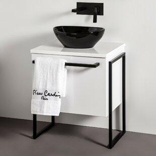 Macie 640mm Free-Standing Single Vanity Unit By Wade Logan
