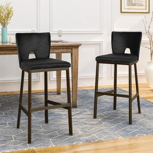 Frieda 26.75 Bar Stool (Set of 2) Brayden Studio