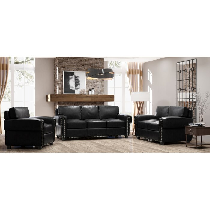 Strange Sioux 3 Piece Leather Living Room Set Machost Co Dining Chair Design Ideas Machostcouk