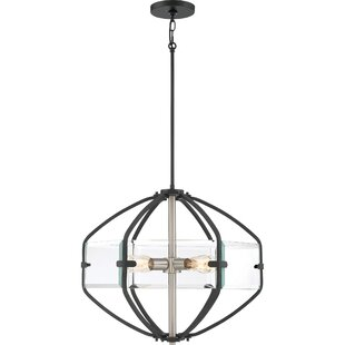 Grasty 4-Light Chandelier by Ivy Bronx