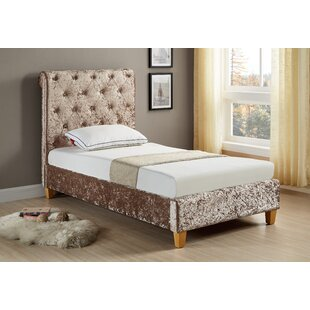 Kaufman Low End Single (3') Upholstered Bed Frame By Rosdorf Park