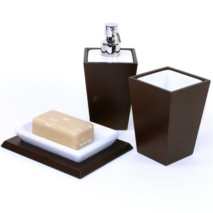 Gedy by Nameeks Kyoto 3-Piece Bathroom Accessory Set