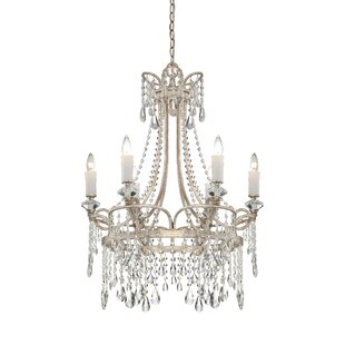House of Hampton Shelbourne 6-Light Candle Style Chandelier