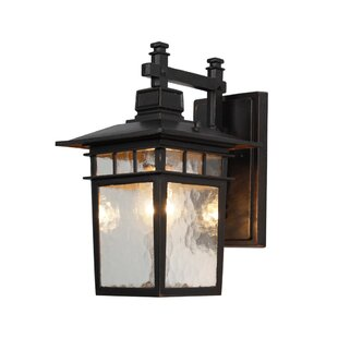 Charlton Home Poythress LED Outdoor Wall Light