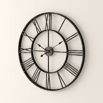 Oversized Whipe 24 25 Wall Clock Reviews Joss Main