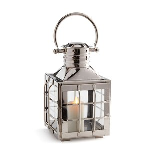 Price Check Stainless Steel Lantern By Breakwater Bay
