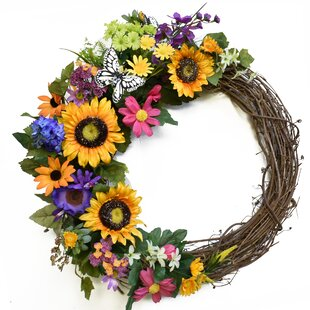 Summer Outdoor Wreath Wayfair