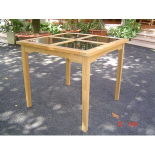 Square Table by HiTeak Furniture 2019 Coupon