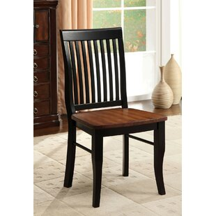 Ebenezer Dining Chair (Set of 2) by Alcott Hill
