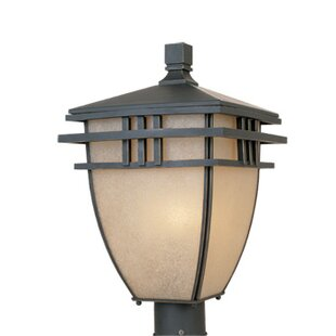 Price Check Dayton 3 Light Post Lantern By Designers Fountain