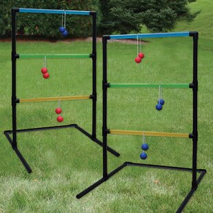 Triumph Sports USA Beginner Transparent 15 Piece Ladder Toss Set