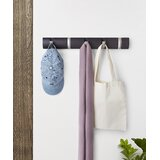 Flip Solid Wood 5 - Hook Wall Mounted Coat Rack