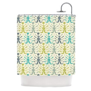 My Leaves by Julia Grifol Single Shower Curtain