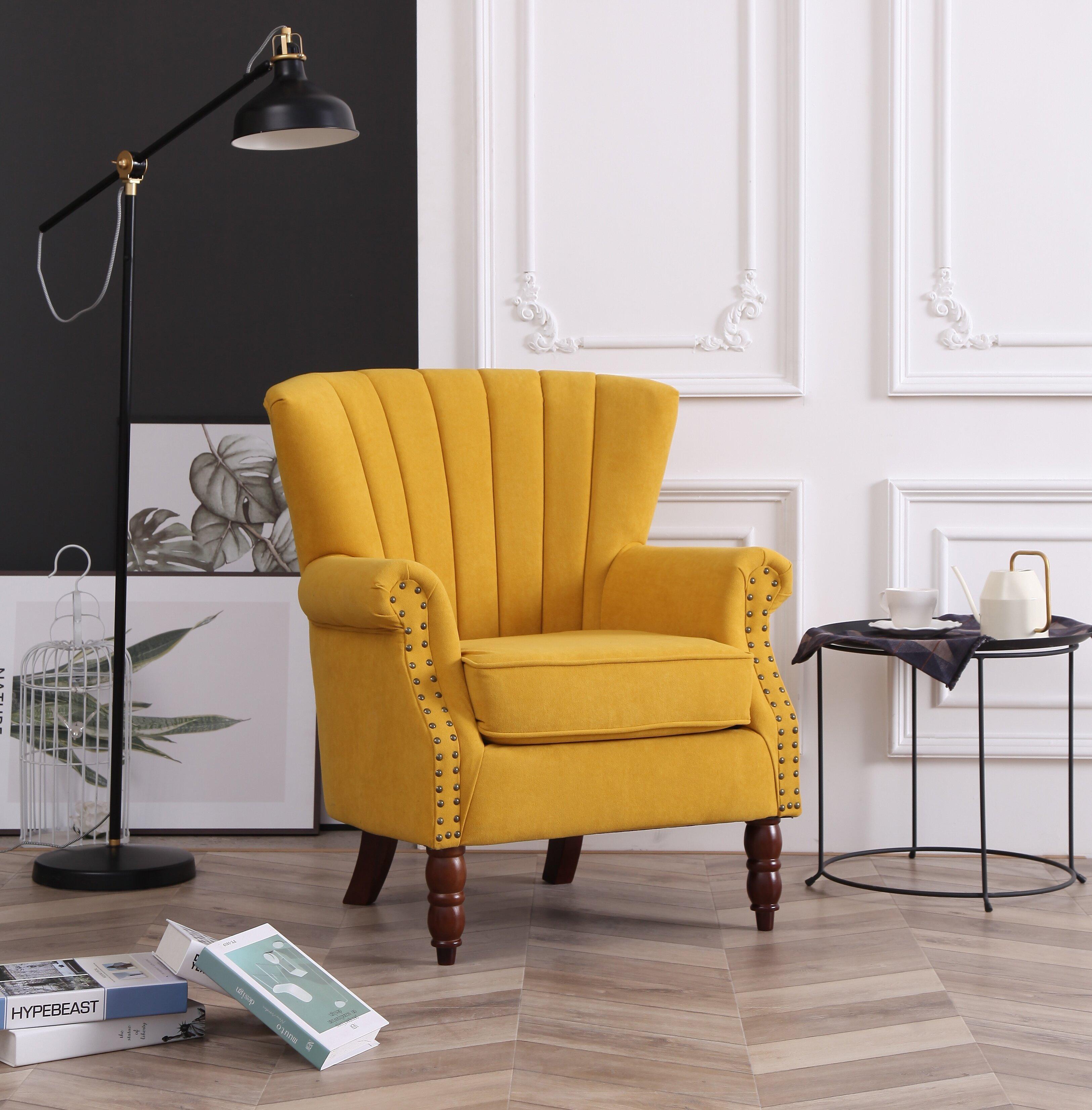 Xan Channel 18 5 Wingback Chair