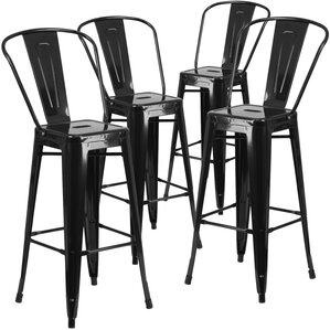 Saif 30.25'' Bar Stool (Set of ..
