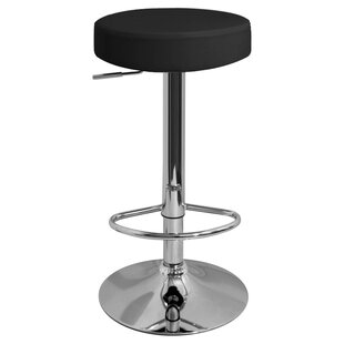 Bartz Swivel Adjustable Bar Stool By Metro Lane