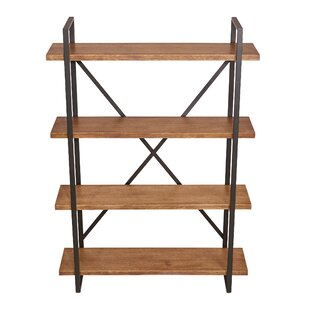 Mikesha Etagere Bookcase by Gracie Oaks