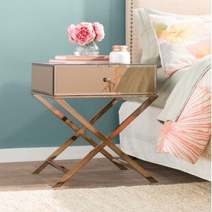Desidério End Table With Storage By Willa Arlo Interiors