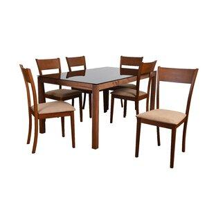 Roosevelt 7 Piece Rectangular Dining Set ..