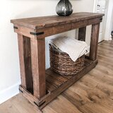 Fairburn 48 Solid Wood Console Table by Loon Peak®