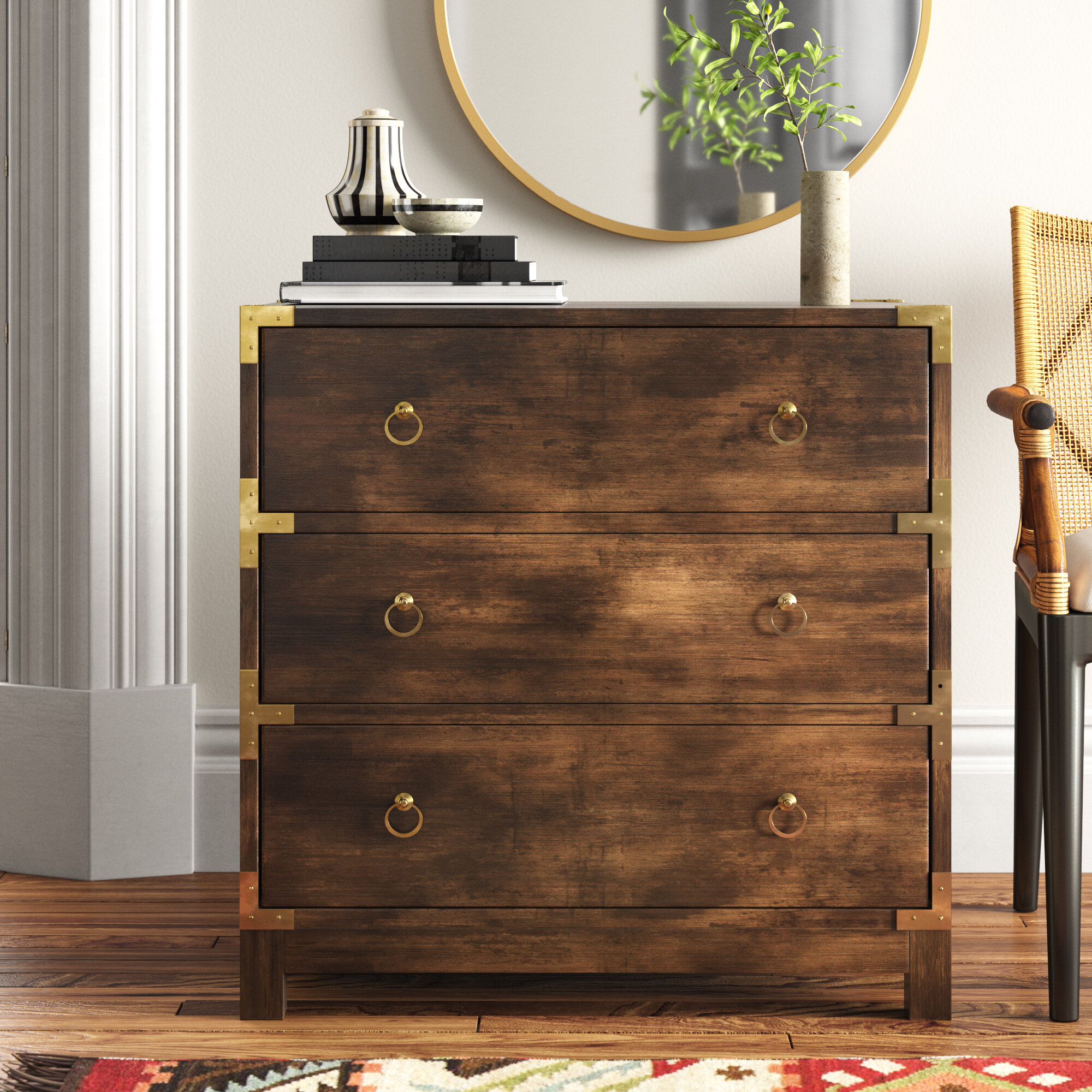 Filmore 3 Drawer Accent Chest Reviews Joss Main