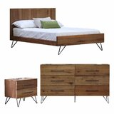 Dearman Platform Configurable Bedroom Set by Foundry Select